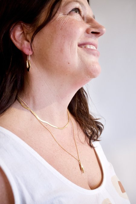 Mercurial NYC Fleur Necklace - Gold
