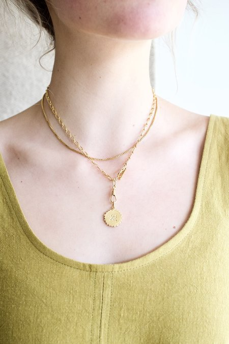 Mercurial NYC Venetian Box Layer Chain - Gold