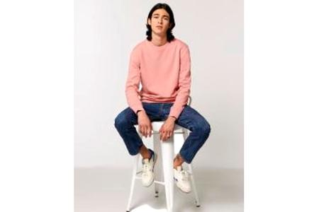 Milworks Liam Crew Sweatshirt - Canyon Pink