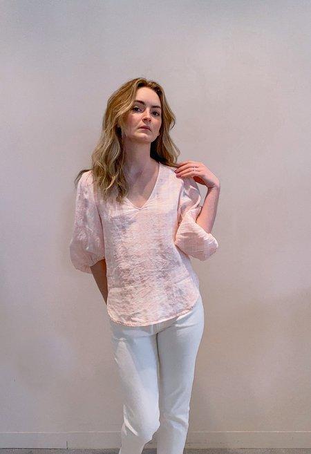 RG KANE Fluff Sleeve Blouse - Pink