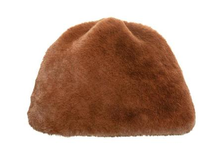 Clyde Faux Fur Toque - Brandy