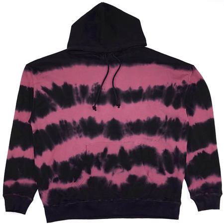 DIESEL S-UMMER-A8 Hoodie - Black/Pink