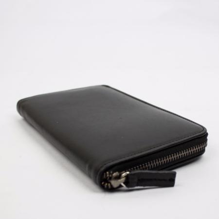 Le Bas Zip Wallet - Black