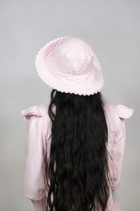 Rightful Owner Terrycloth Sun Hat - Pink