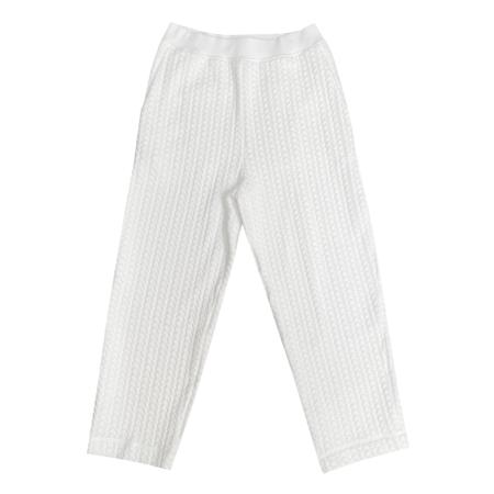 Ali Golden Quilted Pants - Bone