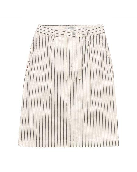 Carhartt WIP W W' Trade Skirt - Wax/Black Rinsed