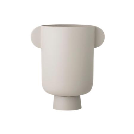 Bloomingville Metal Vase with Handles - Matte