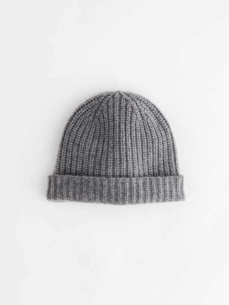 Alex Mill Cashmere Beanie - Heather Grey