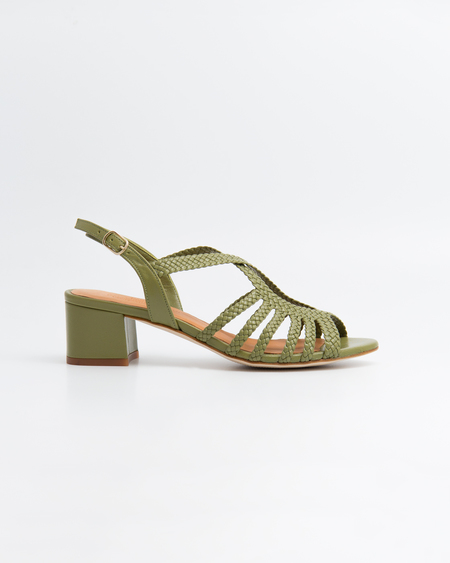 Naguisa Raco Sandals - Green