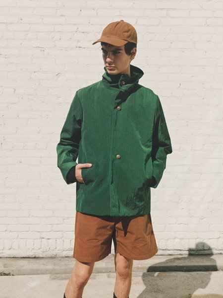 MAN-TLE R10 Nylon Snap Hood Jacket - Canopy