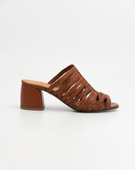 Naguisa Cinder Sandals - Brown