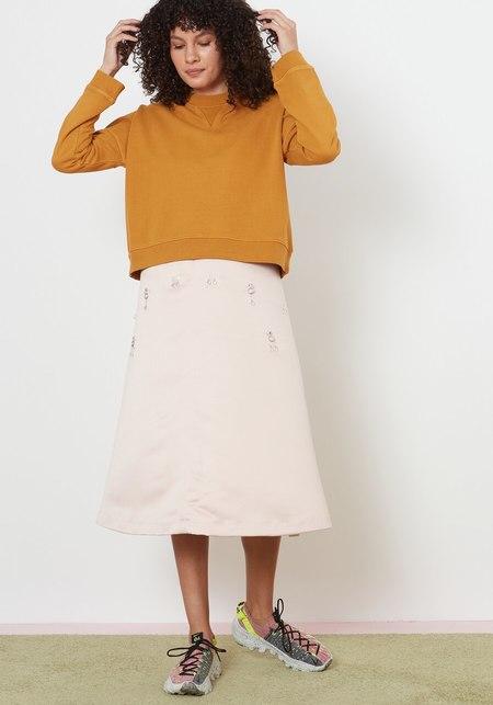 YMC Almost Grown Sweatshirt - Yellow
