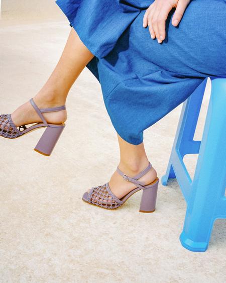 Naguisa Faro Sandals - Purple