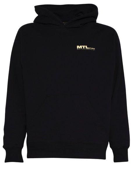 MTL Studio NICOLAS SMILE SWEATER - BLACK/YELLOW