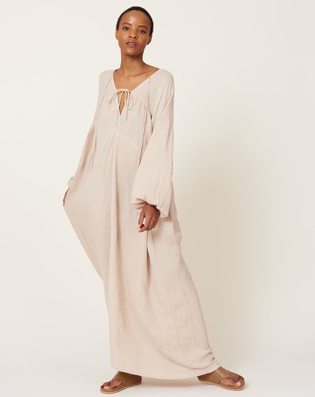 Covet + Lou The Philoméne Dress - Beige