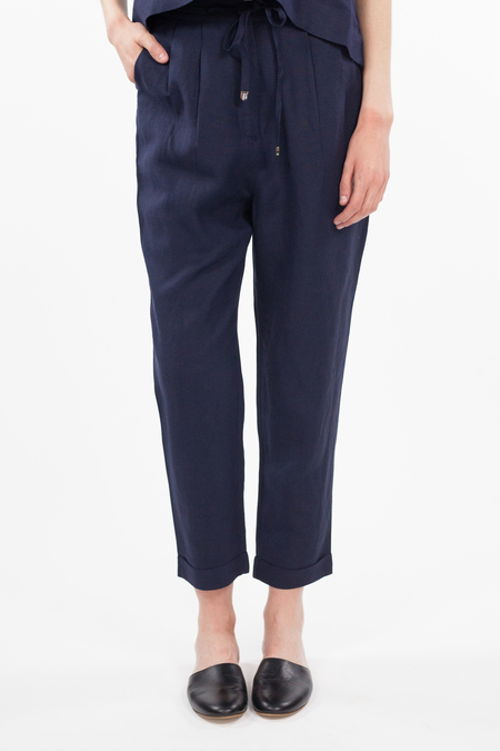 7115 by Szeki Drawstring Relaxed Pant