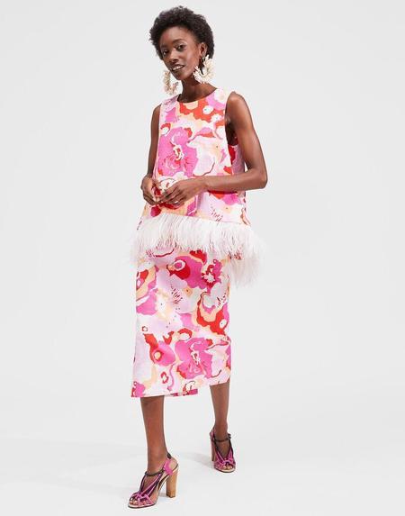 La Double J Pencil Skirt - Peonia Rosa