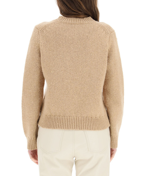 """Marc Jacobs """"THE"""" Intarsia Sweater - Natural"""