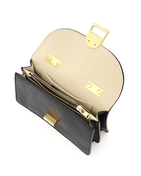 Marni Juliette Small Leather Bag - Black