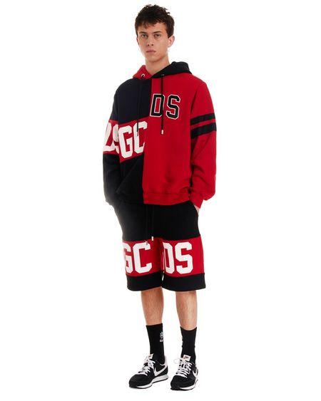 GCDS Logo Bermuda Joggers shorts - black