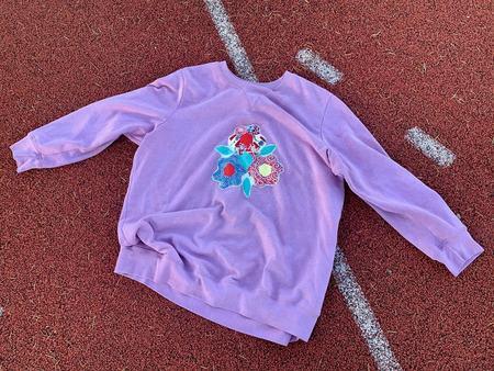 Chloe Cox Cozy Quilt Sweatshirt