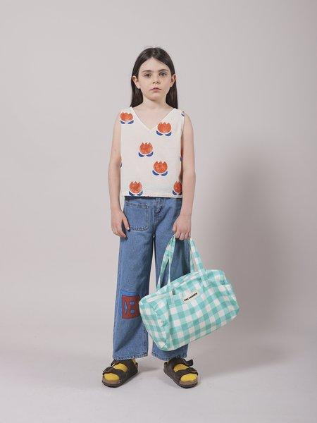 kids unisex Bobo Choses Squared Denim Pant - Swedish Blue