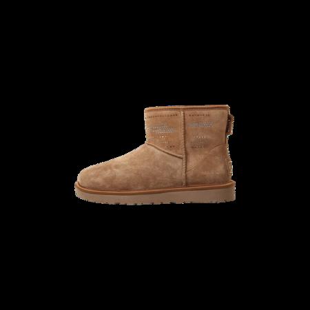 Ugg Women Classic Mini Serape Bling 1011265-CHE boots - Chestnut