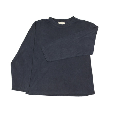 Olderbrother Hand Me Down - Long Sleeve Tee - Indigo Plus