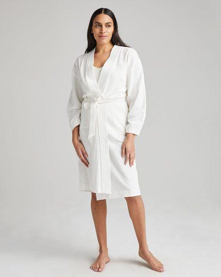 Richer Poorer Robe Coat - Bone