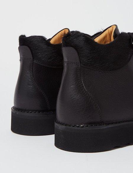 Fracap M170 Cristy Vibram Sole Scarponcino Boot - Black/Pony Black