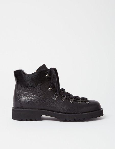 Fracap M170 Roccia Vibram Sole Scarponcino Boot - Black/Pony Black