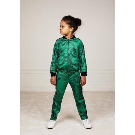 kids mini rodini tigers wct trousers - green