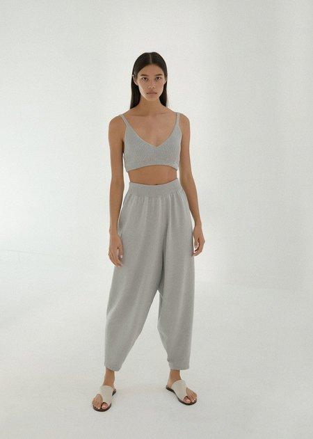 Monica Cordera Knit Pants - Pearl Blue