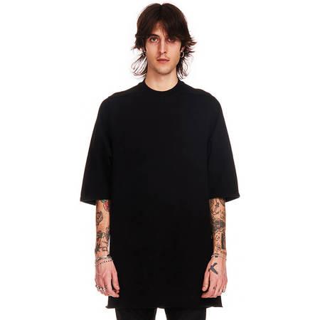 RICK OWENS DRKSHDW Jumbo ss sweatshirt - black