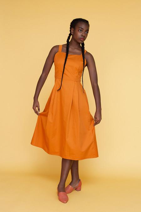 Samantha Pleet Tower Dress