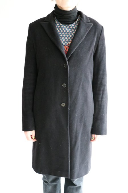 [Pre-loved] Jil Sander Long Wool-Blend Coat