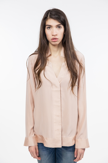 TY-LR Luxe Silk Top