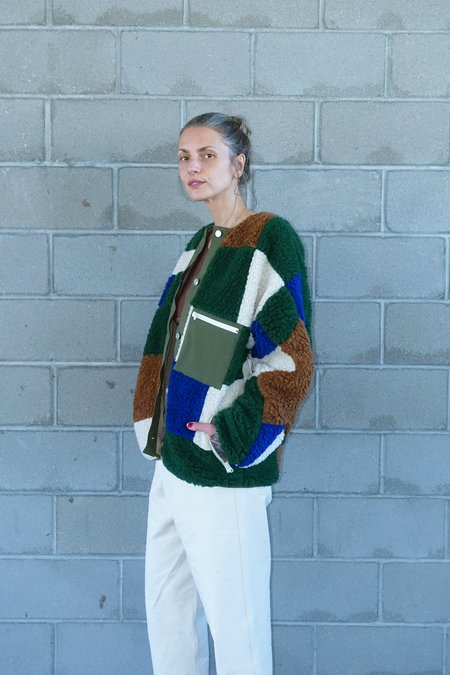 Unisex Sandy Liang Quilt Fleece