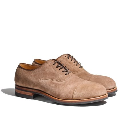 Viberg Bastion Oxford CFS Eco Veg Fallow Suede shoes - brown