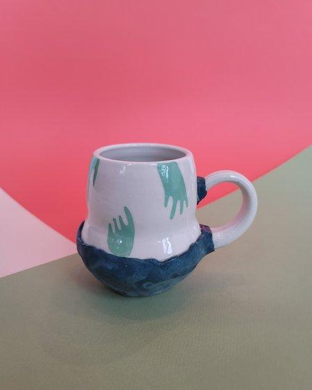 Coco Spadoni Floating Hands Mug