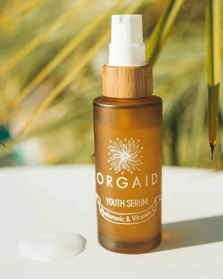 ORGAID Youth Serum with Hyaluronic & Vitamin C