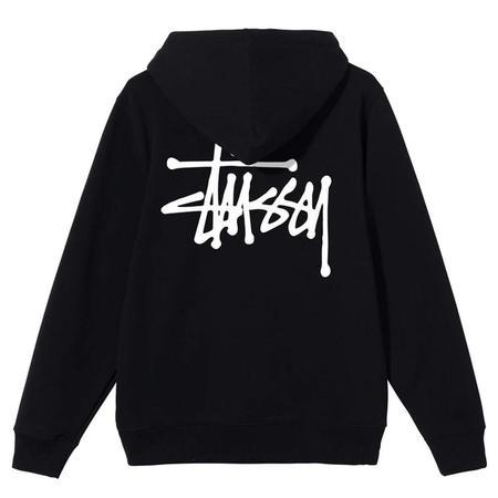 Stussy Basic Hood sweater - Black