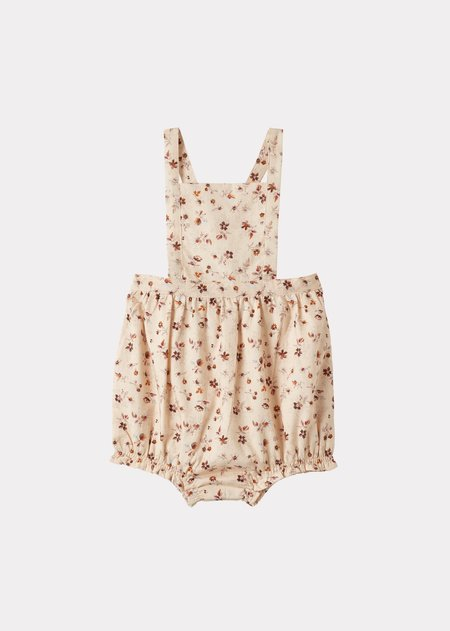 Kids Caramel Clam Baby Romper - Ditsy Floral Print