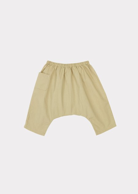 Kids Caramel Fluke Baby Trousers - Taupe