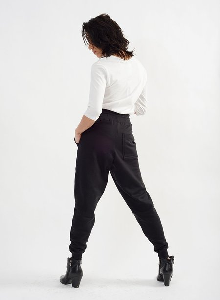 Meg Feminist Sweatpant - Black