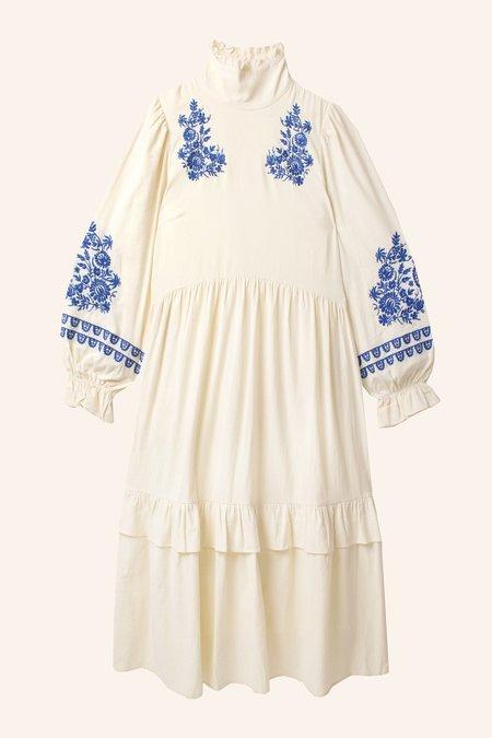 Meadows Lucerne Dress - Cream