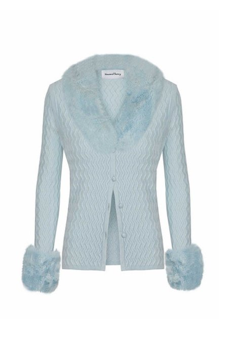 House Of Sunny Pacific Peggy Cardi - Pacific Blue