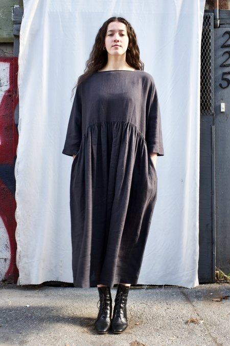Black Crane Tradi Dress - Faded Black