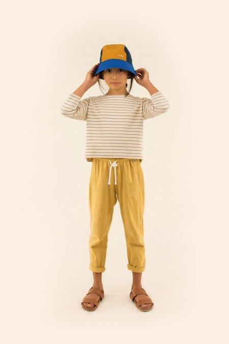 Kids Tinycottons Long Sleeve Stripe Tee - Ivory