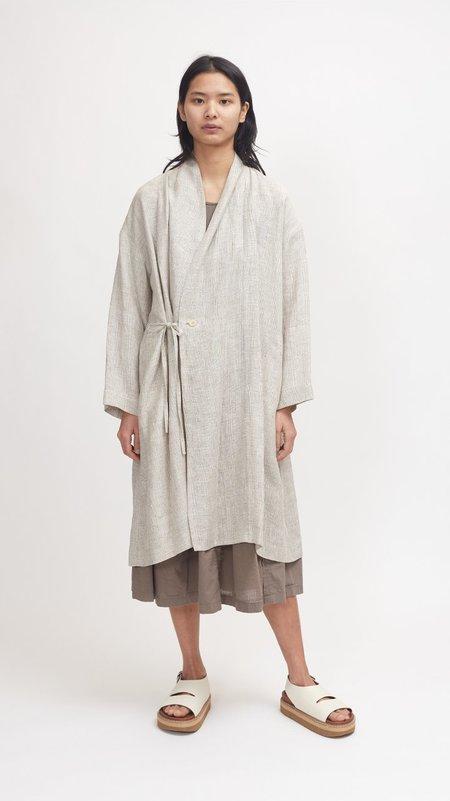 Pas de Calais Light Weight Robe Coat - Beige